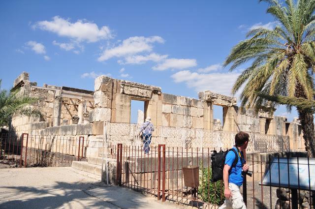 The Capernaum Synagogue