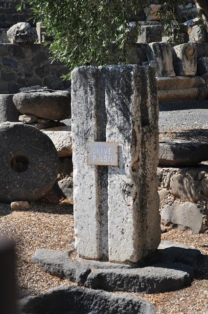 Olive Press. Very ancient. very pretty. very posh press.