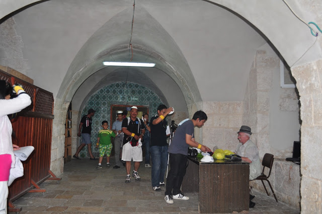 To the Tomb of King David