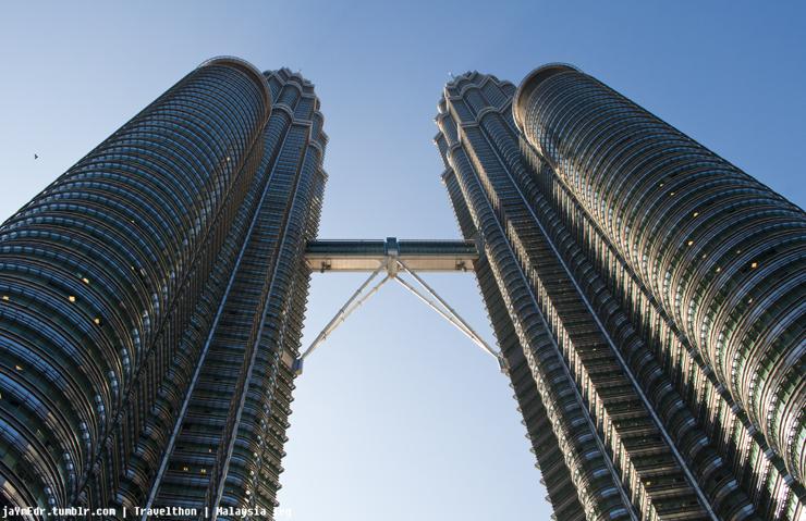 The twin king of the Kuala Lumpur sky line