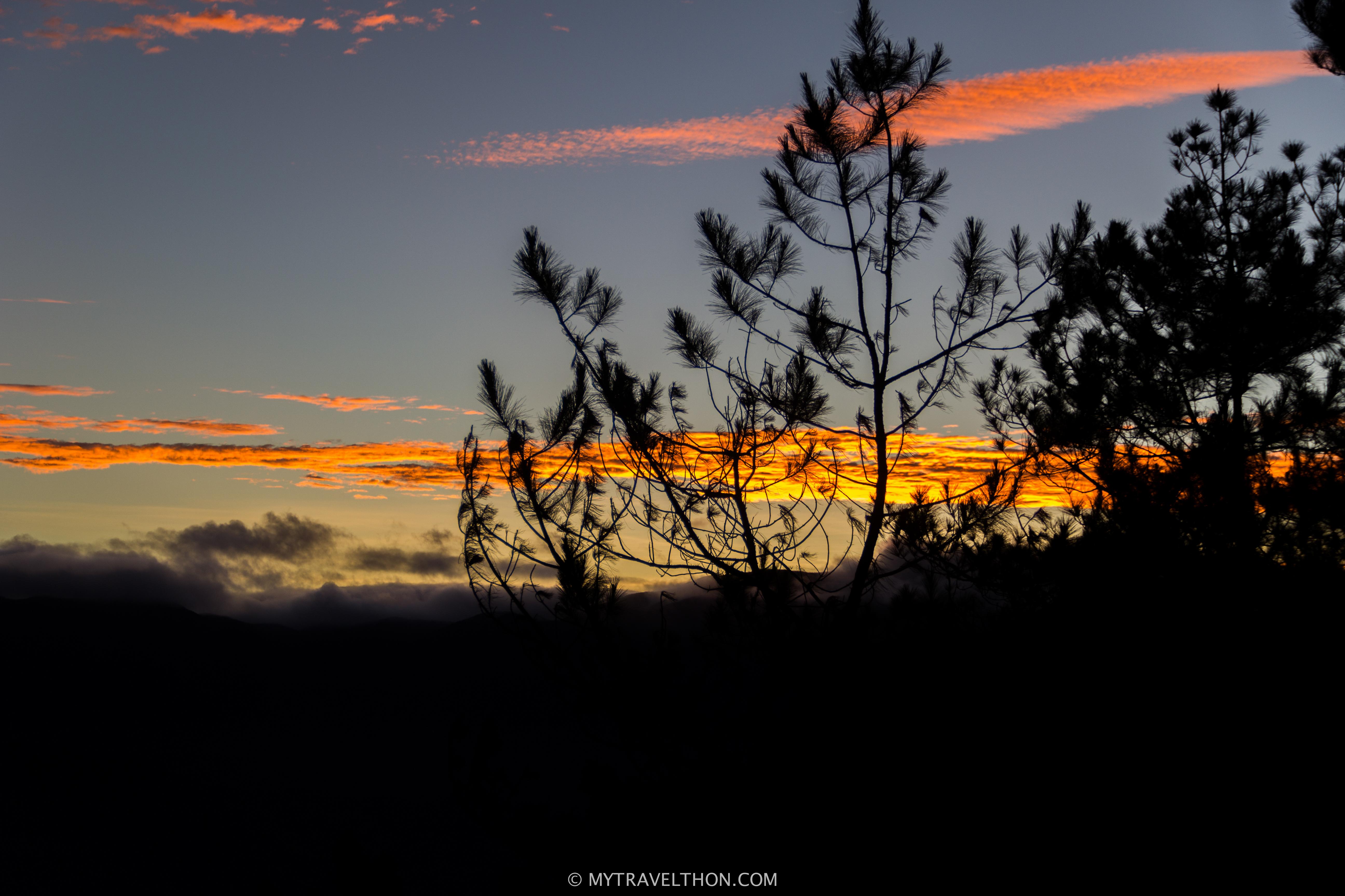 Kiltepan Sunrise, Sagada